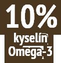 10% kyselín Omega-3